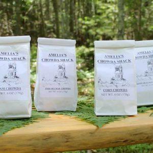 Amelias Chowder - Clam, Fish or Crab, Corn, Shrimp or Scallop