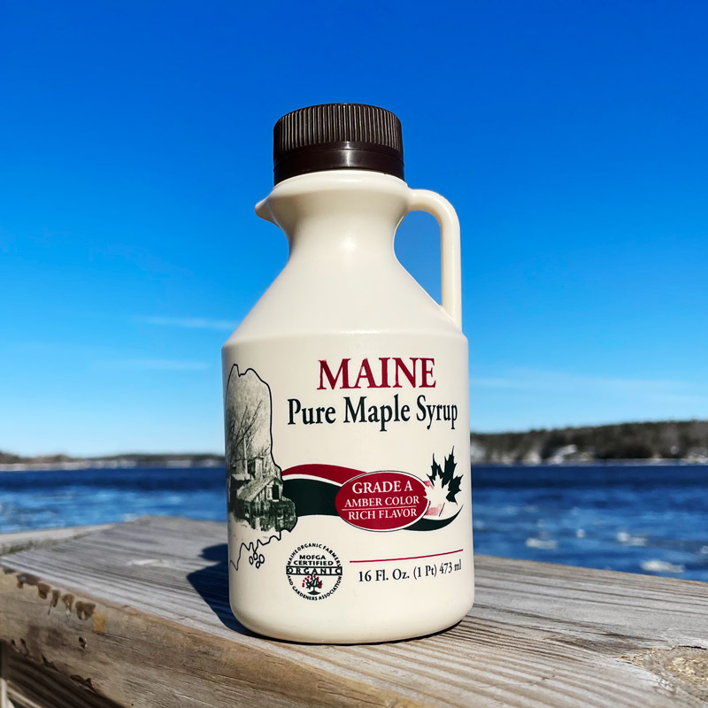 Maine Maple Syrup - 16 oz