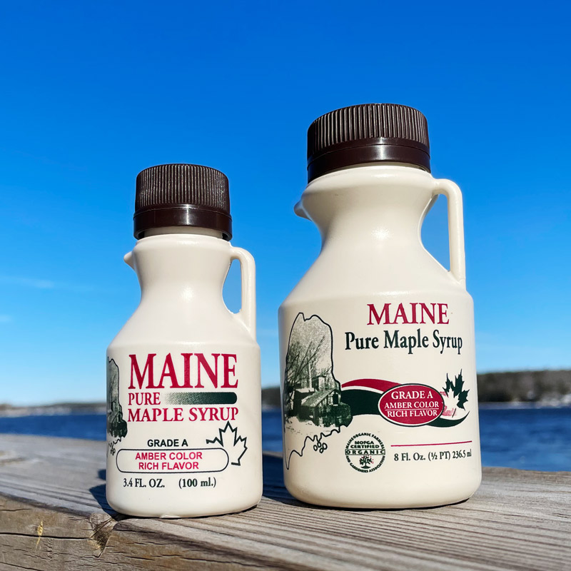 Maine Maple Syrup - 3.4 oz, 8 oz