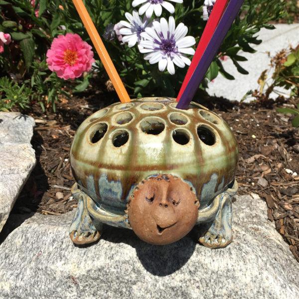 Westport Island Turtle Pencil Holder
