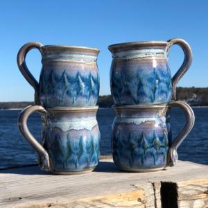 Unity Pond Pottery Mug - Fred's Glaze