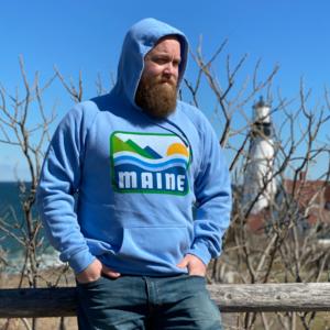 Patamainia Blue Maine Hoodie