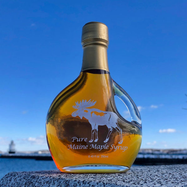 Cooke's Maple Farm Maple Syrup Basques - Moose Logo