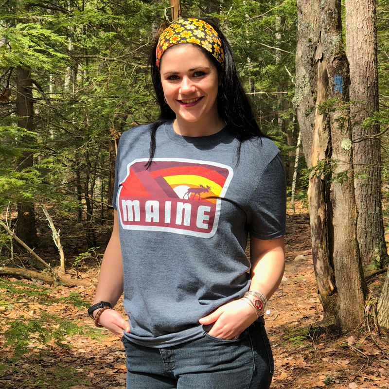Grey Maine T-Shirt