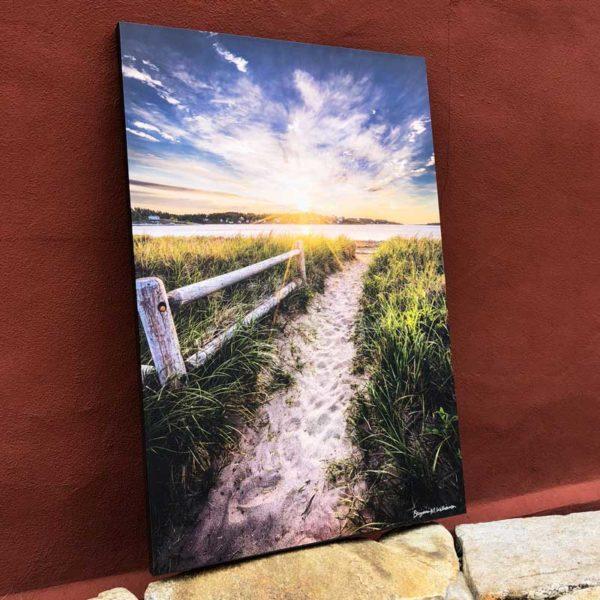 Path to Popham   Canvas by Benjamin Williamson Description