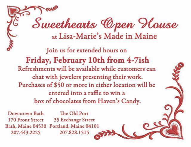 Sweethearts Open House 2017