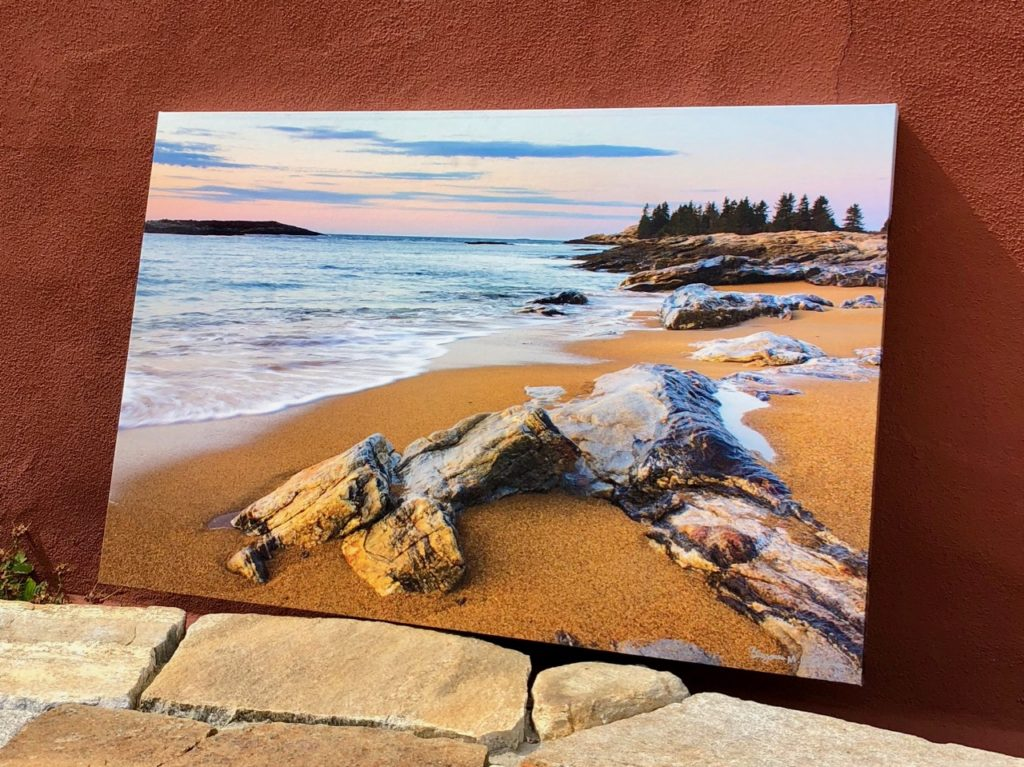 Reid State Park   Canvas by Benjamin Williamson Photography