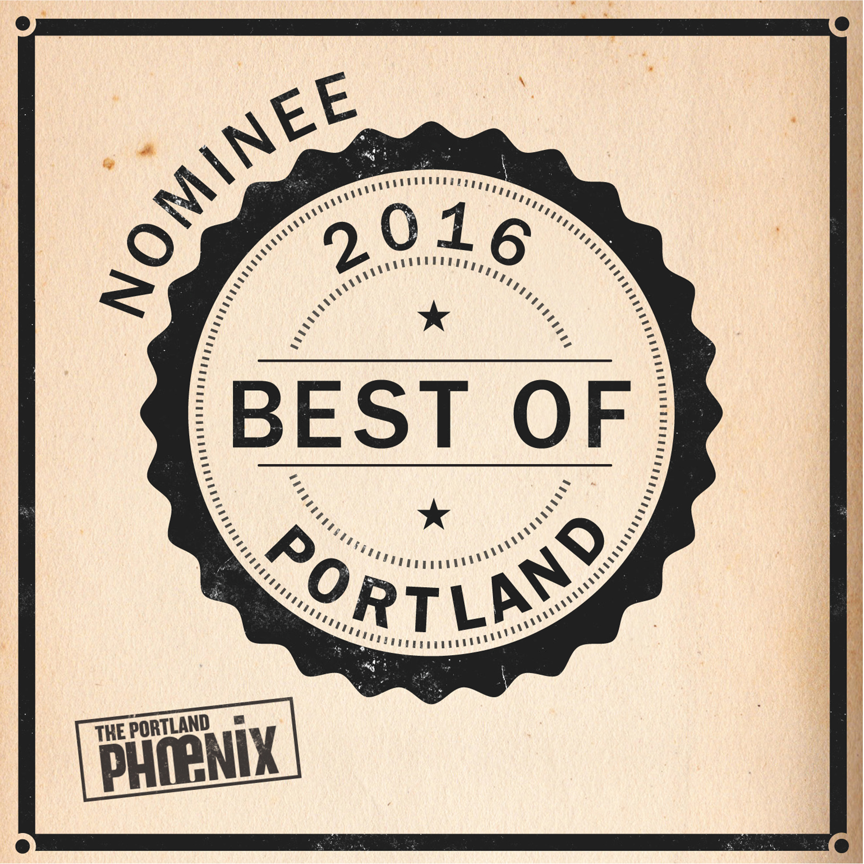 Nominated Best of Portland 2016!