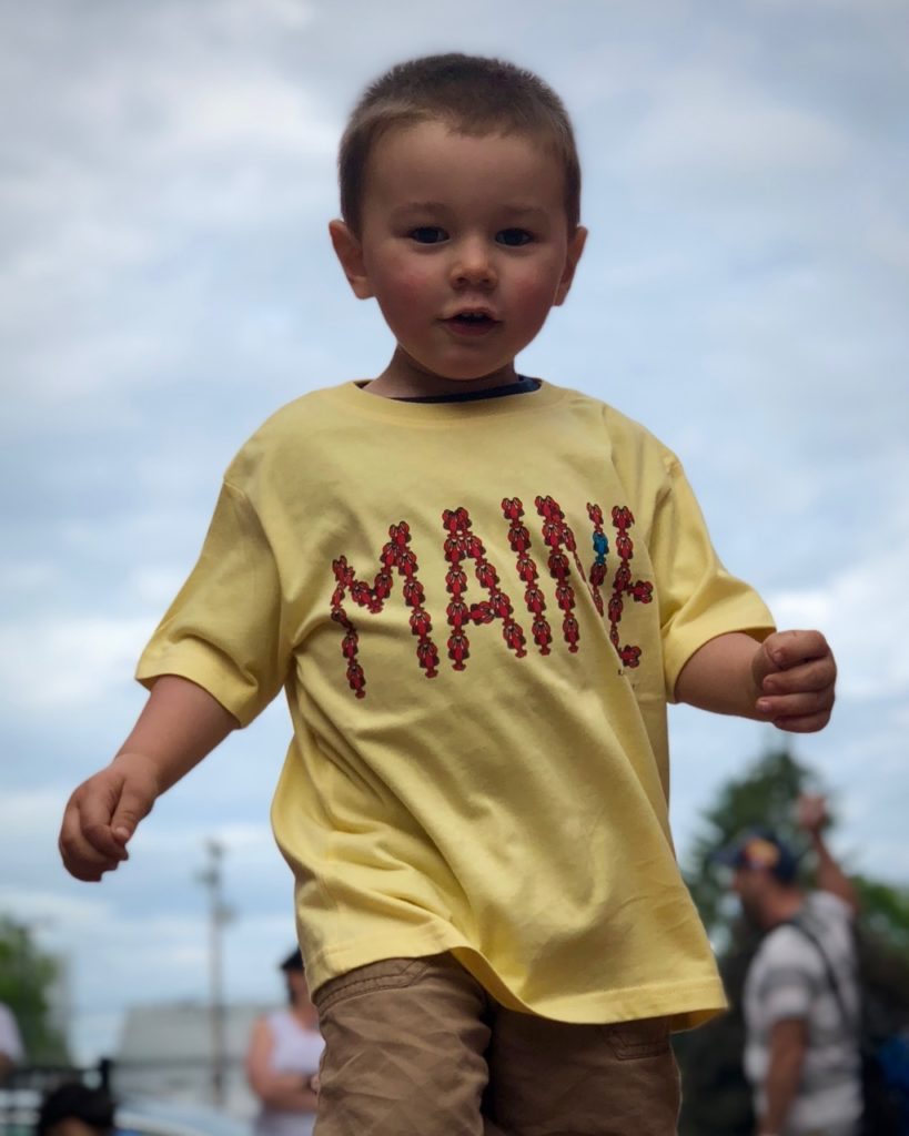Youth MAINE Lobster T-Shirt