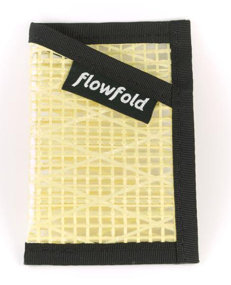 Flowfold Wallet - Yellow Minimalist