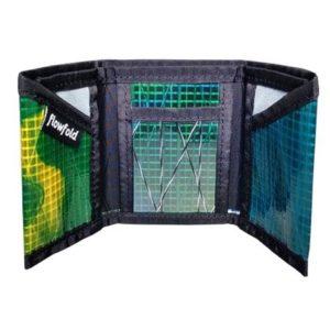 Flowfold Wallet - Green Trifold