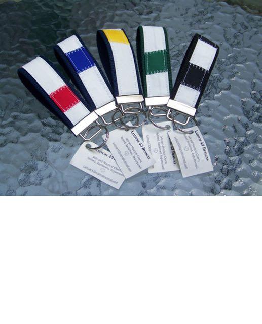Sail Cloth Key Fobs
