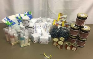 2017 Gift Baskets for BIW