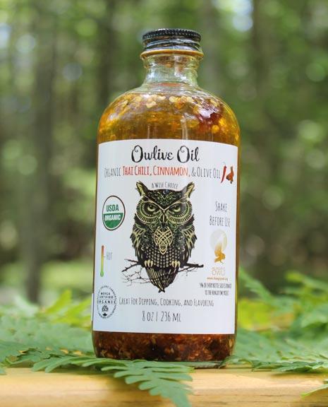Thai Chili & Cinnamon Olive Oil