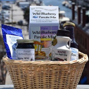 Maine Made Gift Basket, Blueberry Maine Made Gift Basket