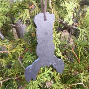 Slate Lobster Ornament