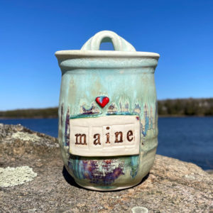 Love MAINE Wall Cup