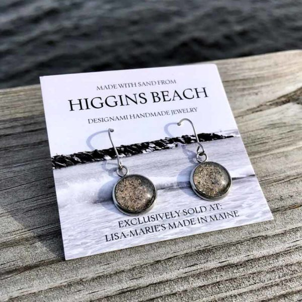 Higgins Beach Sand Earrings