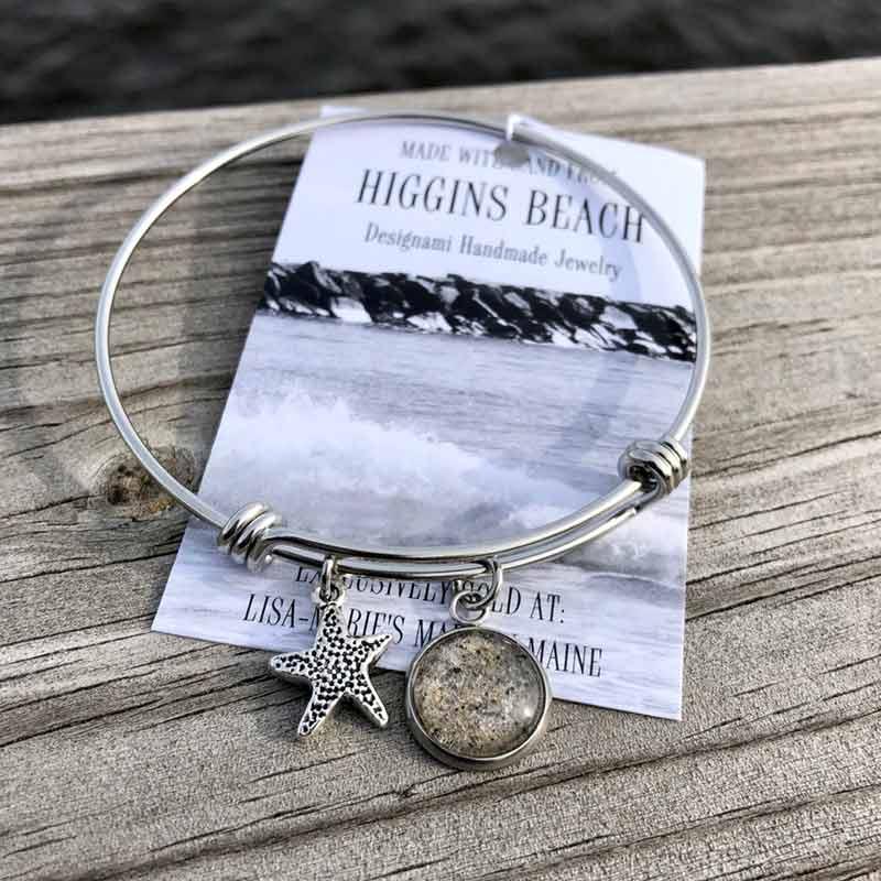 Higgins Beach Sand Bangle Bracelet