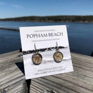 Popham Beach Sand Earrings