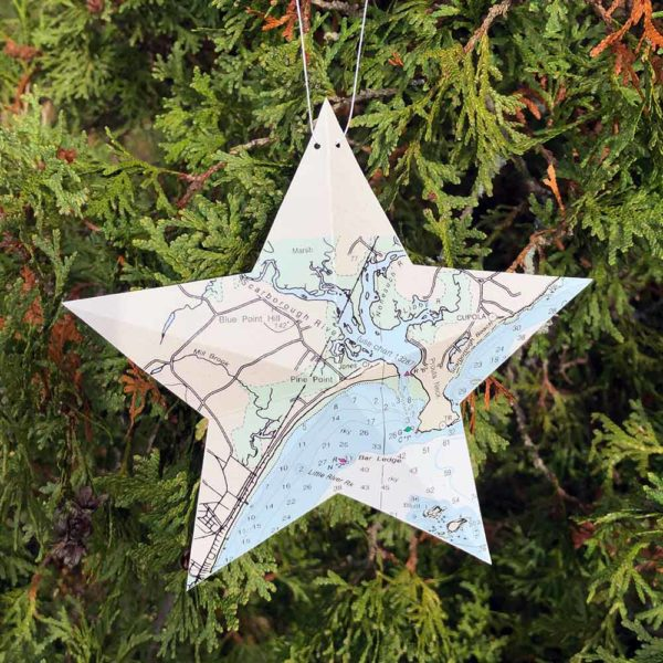 Scarborough Chart Star Ornament