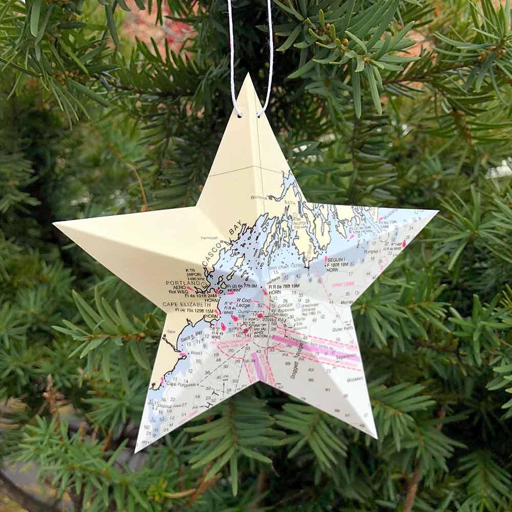 Chart Star Ornaments
