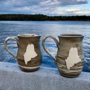 Maine Mug by LKB Pottery