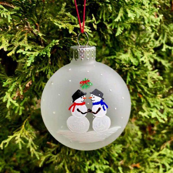 First Christmas Ornaments - Groom / Groom