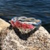 Pink Sea Glass Bracelet