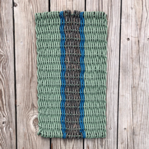 Sage & Black Lobster Rope Doormat