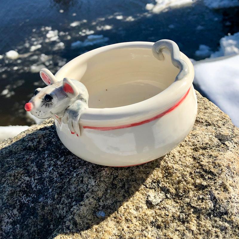 Mouse Dip Dish