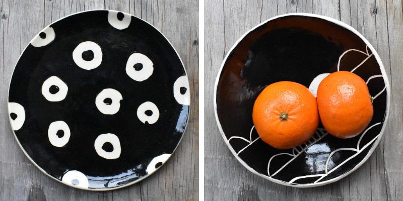 Keramika Pottery - Black & White