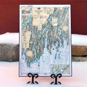 NOAA Chart - Damariscotta to Christmas Cove