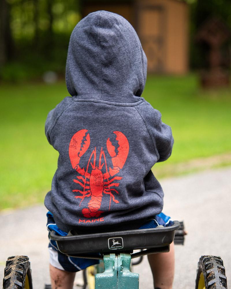 Giant Lobster Youth Hoodie
