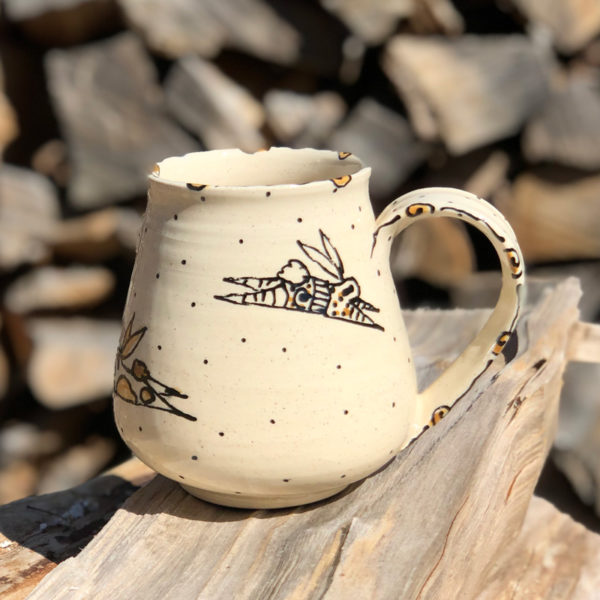 Rabbit Pottery - Rabbit Mug