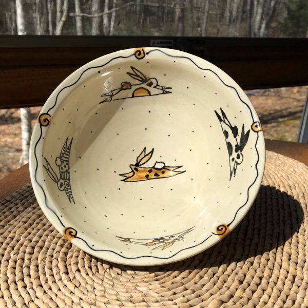 Rabbit Pottery - Rabbit Bowl