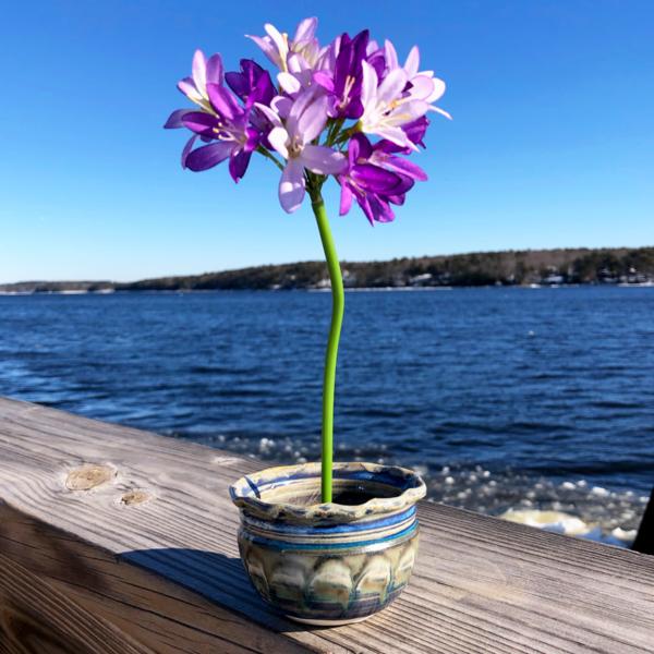 Ikebana in Fred's Glaze by Unity Pond Pottery