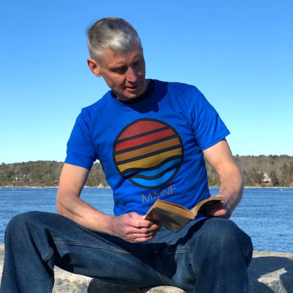Blue Ocean View T-Shirt