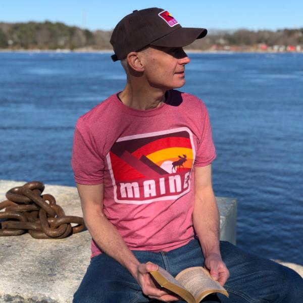 Red MAINE T-Shirt