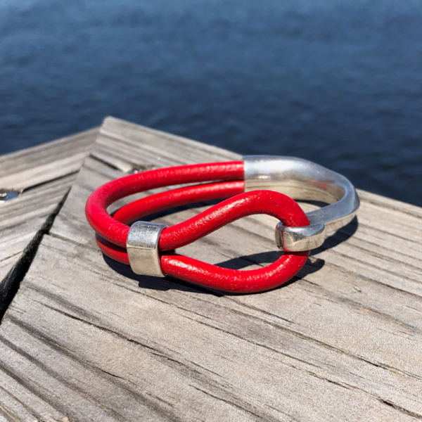 Blackbeard Bracelet - Red