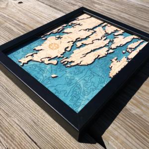 Midcoast Maine Peninsulas 2D Map