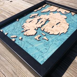 Mount Desert Island 2D Map