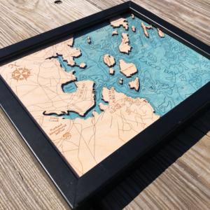 Casco Bay 2D Map