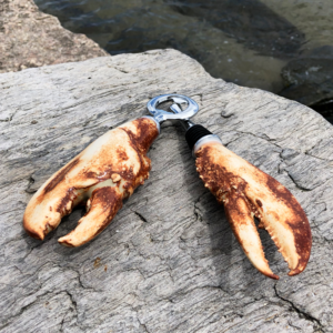 Rusty Brine Lobster Claw Bottle Stopper & Bottle Opener