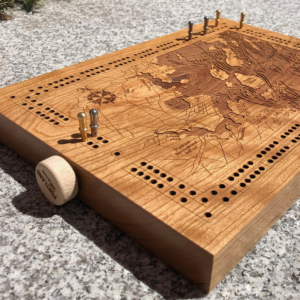 Casco Bay Cribbage Board