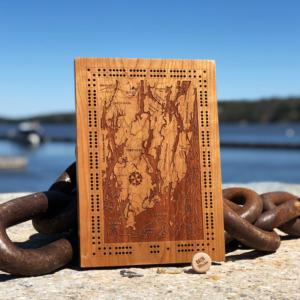 Midcoast Maine Cribbage Board