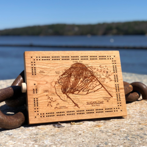 Sugarloaf Mountain Cribbage Board