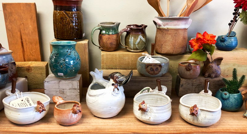 A Virtual Tour of Westport Island Pottery
