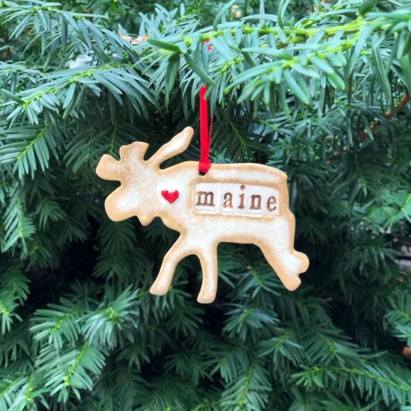 Maine Reindeer Ornament