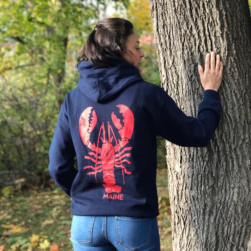 Giant Lobster Hoodie